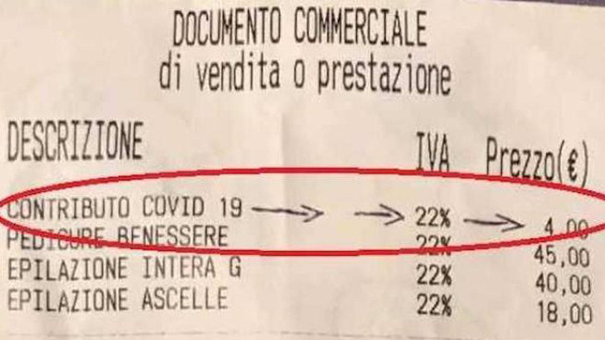 La tassa Covid: nessuno dice che ce la fanno pagare per ciò che già dovrebbero fare