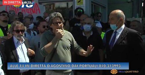 Con la rivolta per D'Agostino in porto oggi è nato un candidato sindaco?