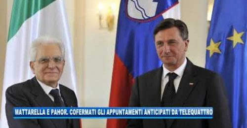 Mattarella e Pahor a Trieste: un sorso di pacificazione già andato di traverso