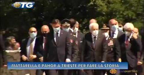 """Foiba: Di Maio """"brutalmente"""" allontanato da Mattarella"""