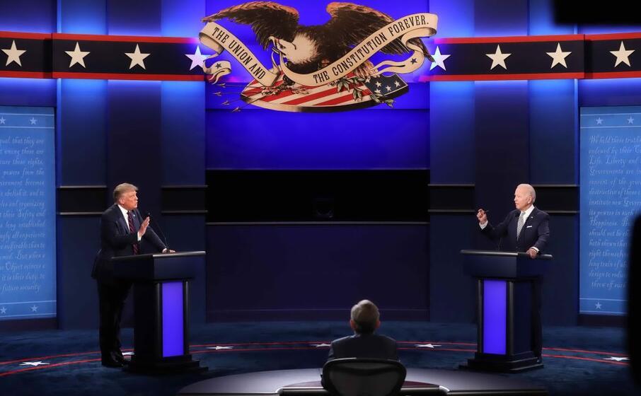 Trump e Biden sul Ring: alta tensione e colpi bassi
