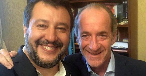 """""""Don"""" Salvini e il doge Zaia: quei due leader divisi tra Sud e Nord"""