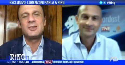 """Arturo Lorenzoni dimesso: """"E' stata dura, voterò da casa""""."""