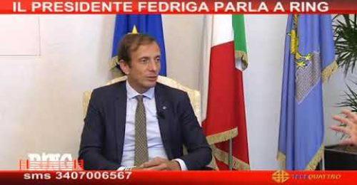 """Fedriga: """"In Fvg ci sarà una lista del Presidente"""". E Salvini che dice?"""