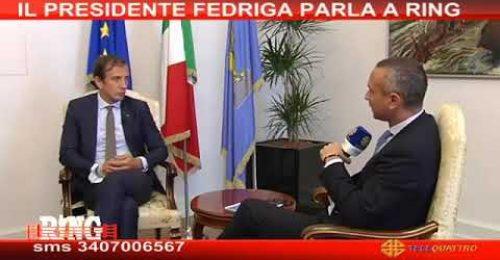 """Parlamentari, Fedriga con Giorgetti: """"al referendum voto no"""""""