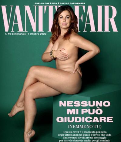Vanessa Incontrada orgogliosa delle sue forme: in copertina contro gli haters