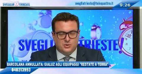"""Barcolana annullata a Trieste, Gialuz: """"La Bora ha sconfitto il rischio Covid"""""""