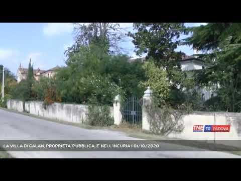 Dai fasti ai fusti: Villa Galan ormai abbandonata