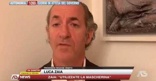 """Nuovo Dpcm, Zaia ad Antenna Tre: """"Non cambierà la curva con queste misure"""""""
