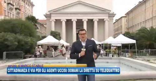 Poliziotti uccisi a Trieste: domani il ricordo di Rotta è Demengo su Telequattro