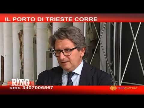 """Porto di Trieste: arrivano i cinesi, Amburgo """"cavallo di Troia""""?"""