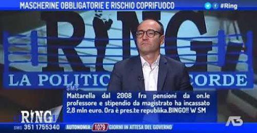 """Riello: """"Ho speso 100.000 euro in mascherine, Il Governo ne ha restituiti 9.000"""""""