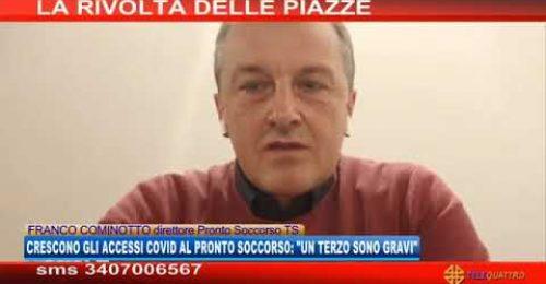 """Trieste: """"Triplicati gli accessi Covid al Pronto Soccorso"""""""