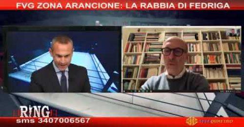 """Fvg Arancione, Riccardi: """"Senza giustificazione. Anche Rt è sceso"""""""