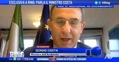 """Porto Marghera, il Ministro Costa: """"Ho firmato, arrivano 172 milioni"""""""