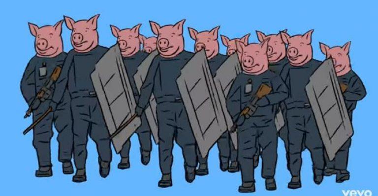 """Testa di maiali? """"Cara Nannini, anche del poliziotto non si butta via niente"""""""
