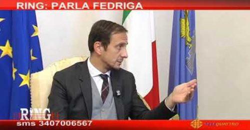 """Covid, Fedriga: """"Se arriva la terza ondata è un disastro"""""""