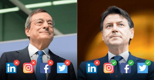 Draghi userà i social per avvicinarsi agli italiani?