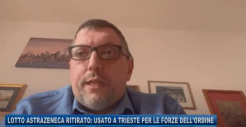 """Astrazeneca, il poliziotto Alessio: """"Rassicurazioni esaustive. Vaccinatevi!"""""""