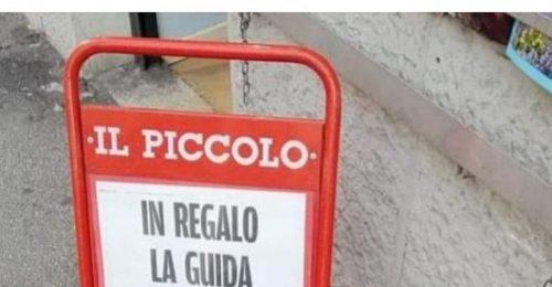 Porro critica l'informazione di Trieste: oggi la fa fuori dalla zuppa