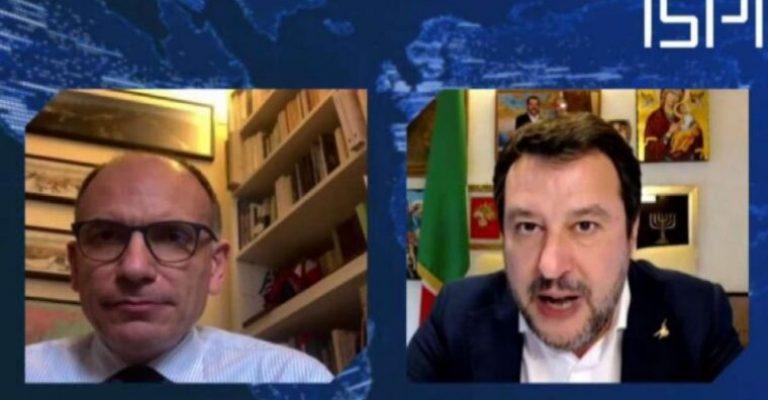 Letta-Salvini e le reazioni avverse