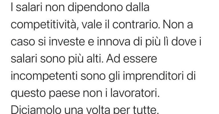 """Riello risponde all'economista Fana """"che odia gli imprenditori"""""""