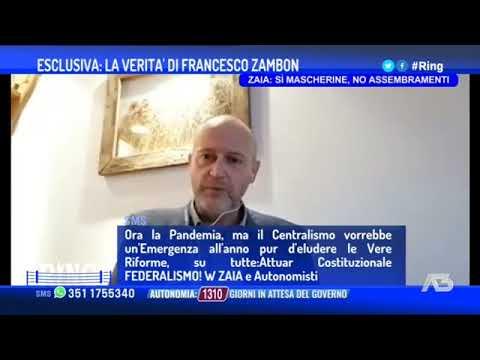 """Zambon a Ring sulla seconda ondata in Veneto: """"Penalizzati dal giallo"""""""
